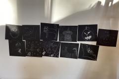 schwarz-weiß Zeichnen
