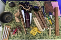 gebastelte Instrumente